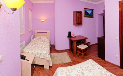 Двухместная комната De Luxe с двумя раздельными кроватями