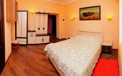 Двухместная Комната De Luxe с одной широкой кроватью